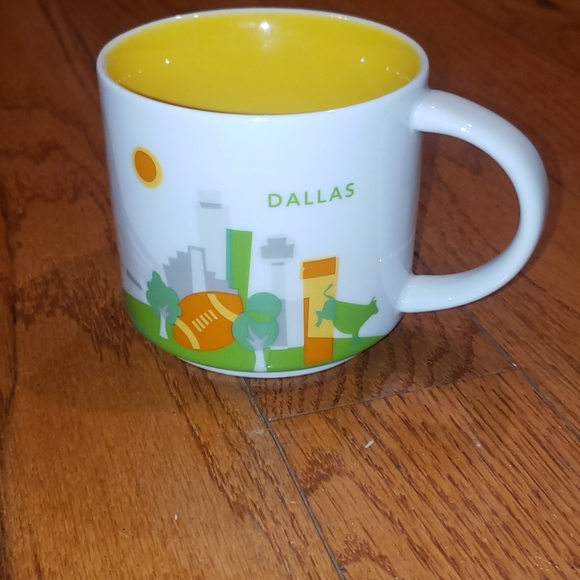 Starbucks You Are Here collection Dallas cup
